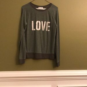 "NWOT's • Grayson Threads • ""LOVE"" Top • Size XS"